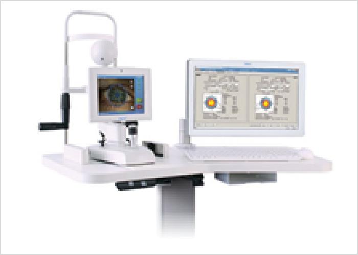 最先端白内障システムの写真です。