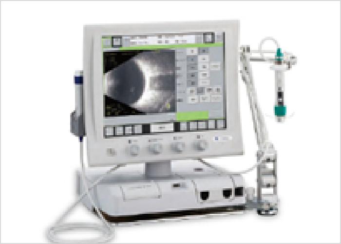 超音波画像診断装置の写真です。