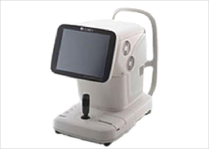 光学式眼軸長測定装置の写真です。